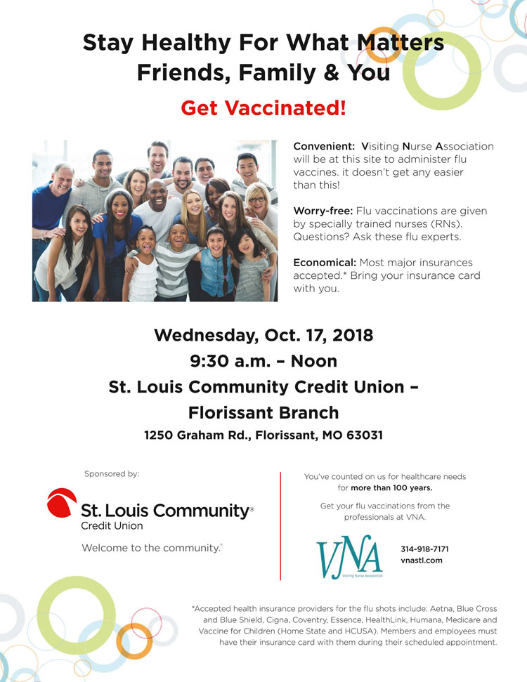 Get Vaccinated St Louis Community Credit Union Explore North County